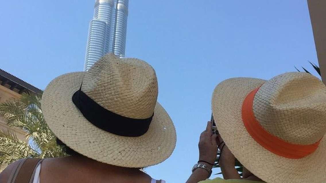 Burj Khalifa and Desert Safari with BBQ Dinner