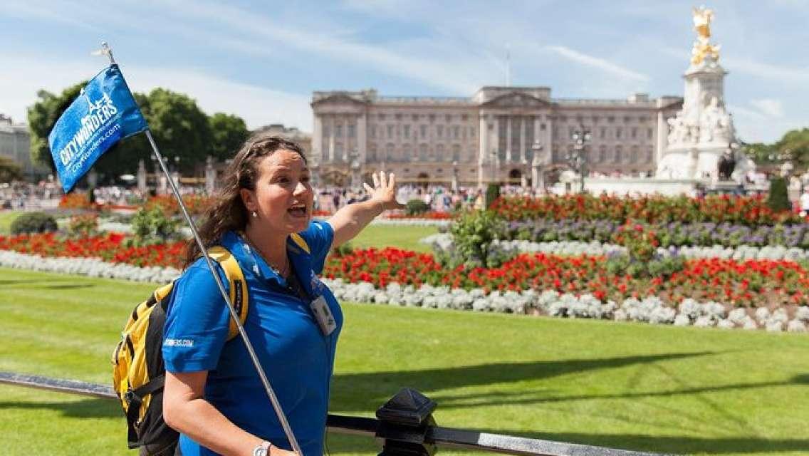 Buckingham Palace Entrance Ticket with Royal London Walking Tour