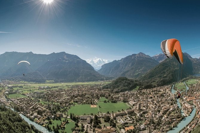 Interlaken and Paragliding Day Trip from Geneva
