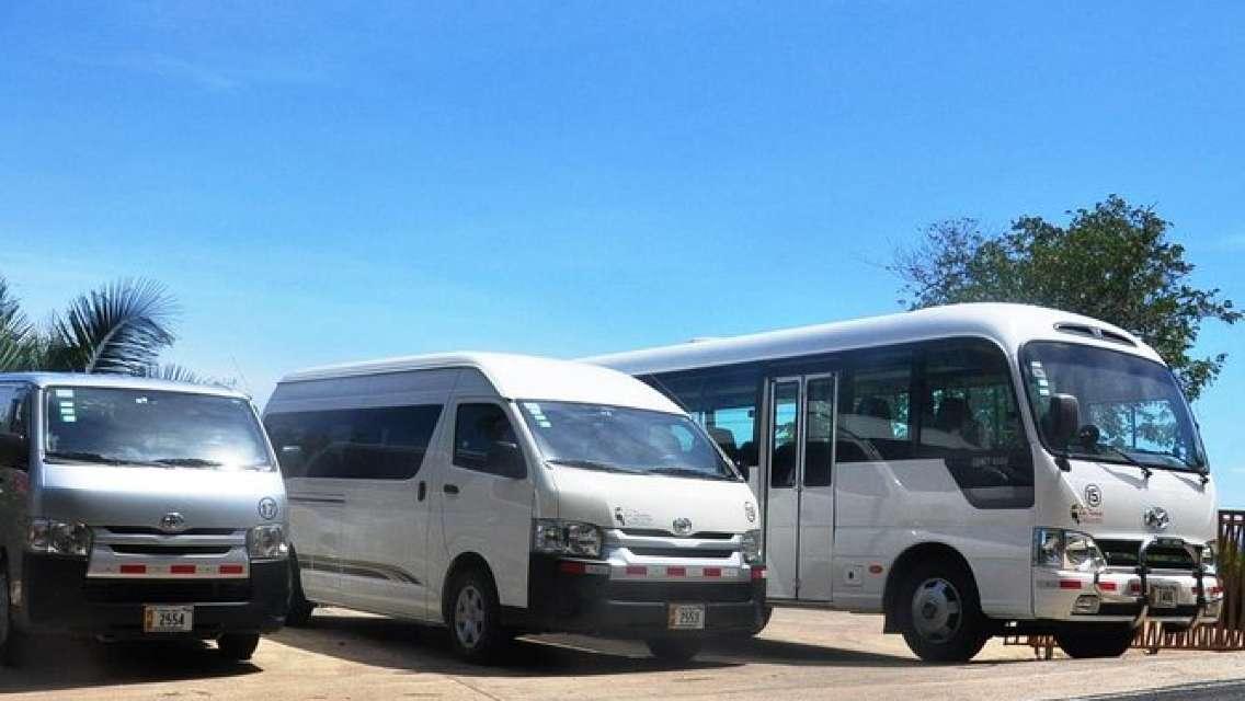 One-Way Private Transfer: Monteverde to Quepos and Manuel Antonio