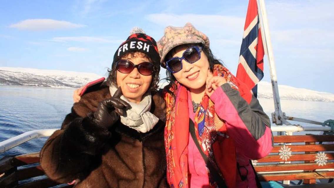 From Tromso all-inclusive Bird and Arctic Wildlife Sightseeing cruise