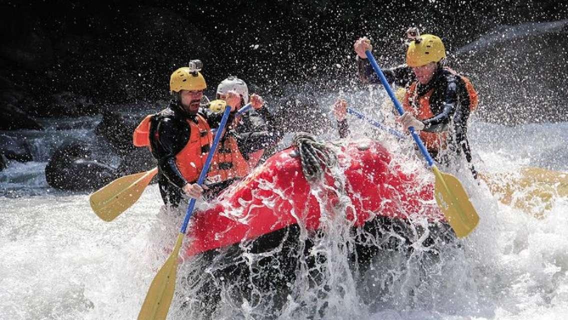 Lütschine River White-Water Rafting Experience from Interlaken