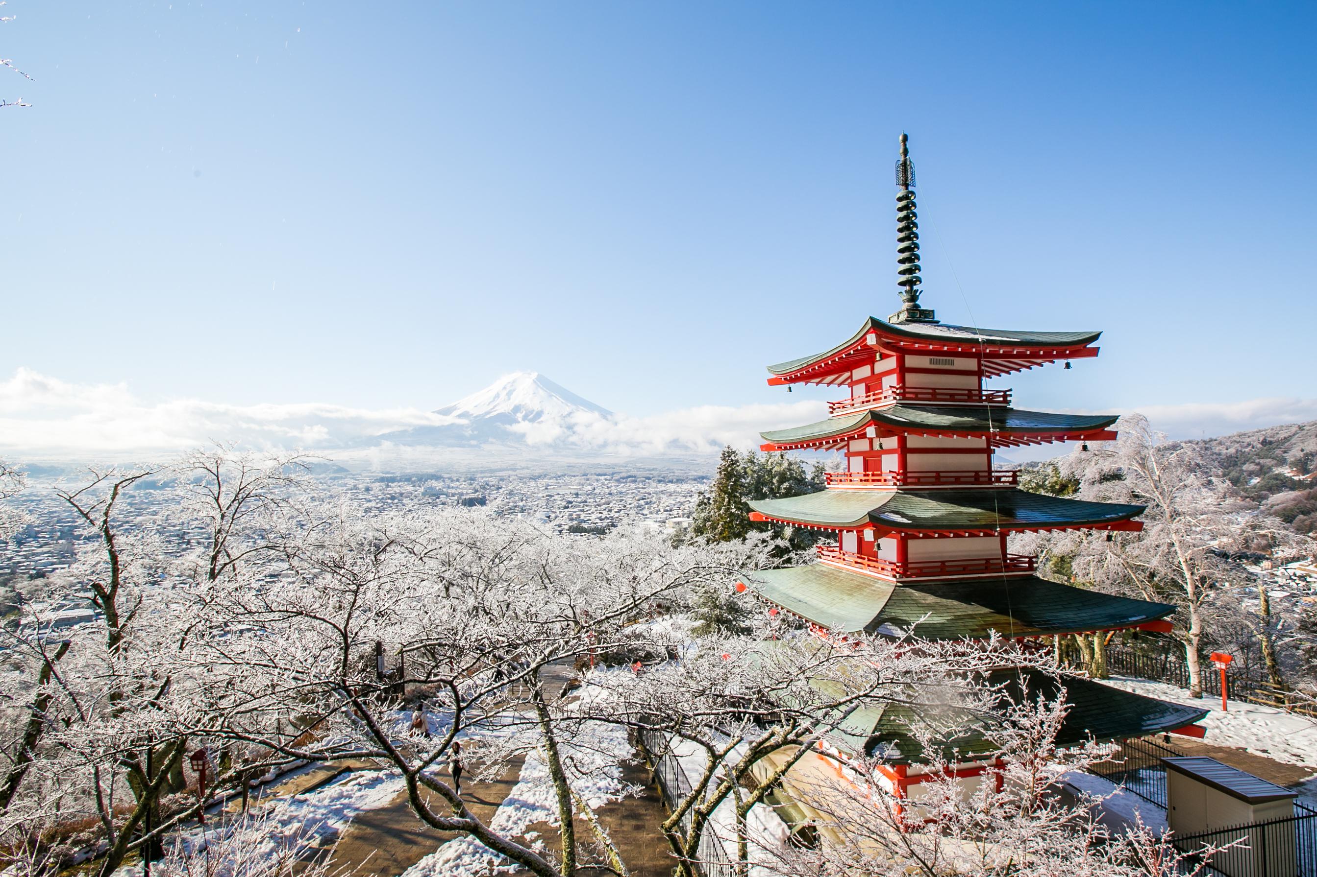 東京富士山一日遊(河口湖/忍野八海/富嶽風穴/含午餐)