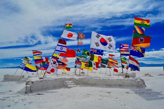 Salar of Uyuni Tour full day | English Speaking Guide | Island of IncaHuasi |