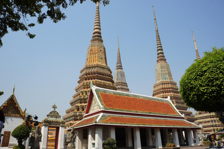 Selfie Bangkok Temple & City Tour