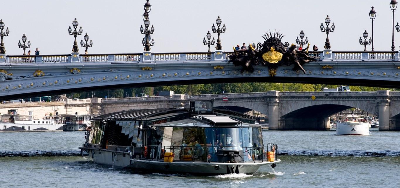 巴黎塞納河 Bateaux Parisiens 1小時遊船票