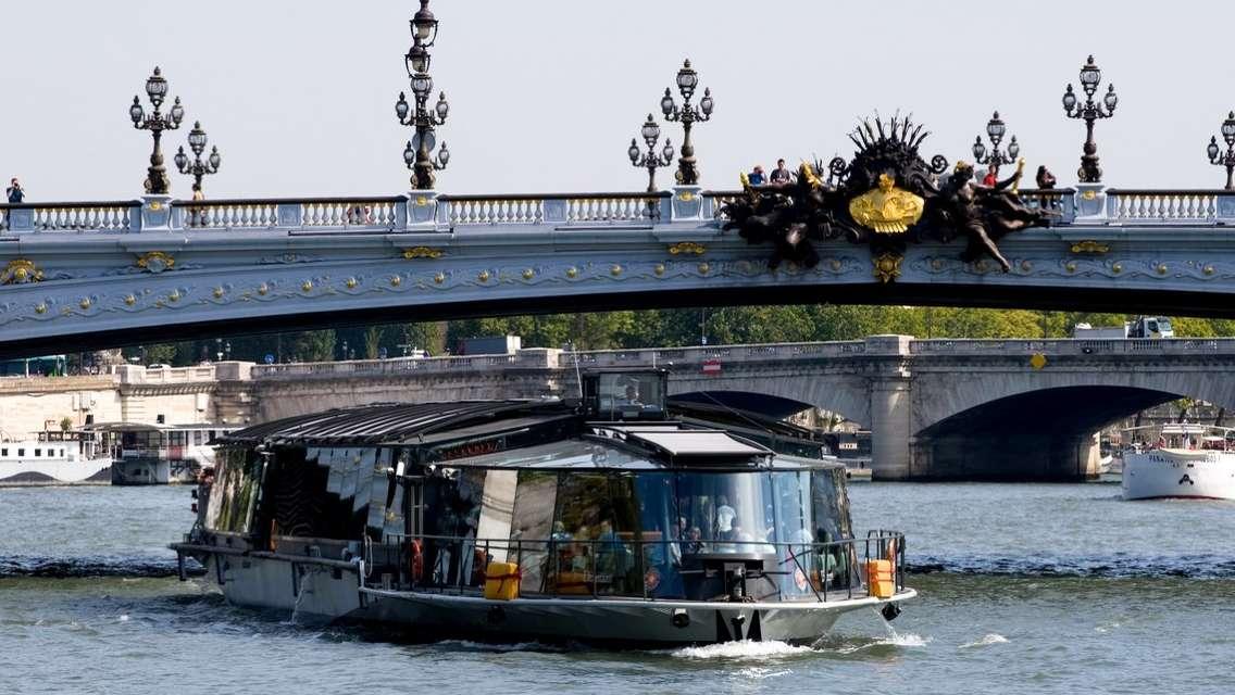 巴黎塞納河1小時浪漫觀光遊船票/Bateaux Parisiens 船公司