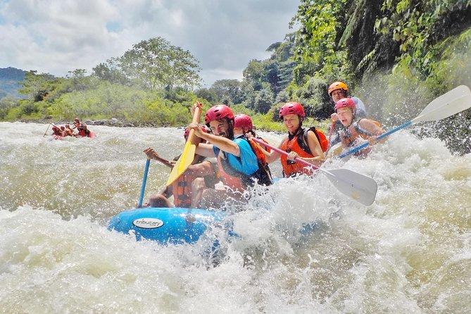 Whitewater Rafting Class III on the Chiriqui Viejo River, Panama
