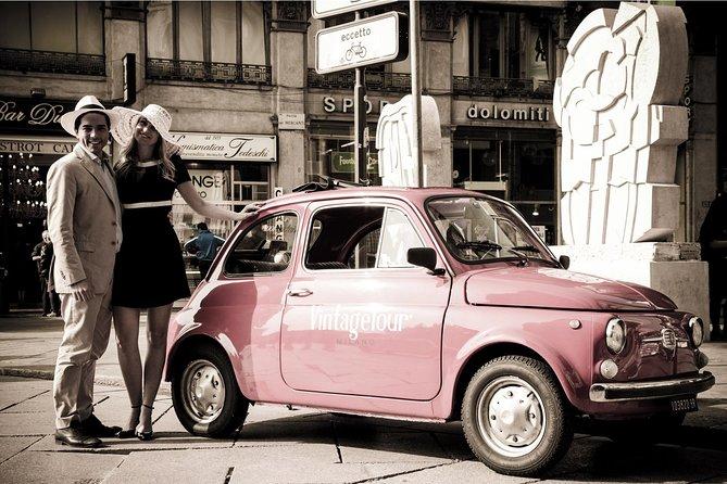 Vintage Fiat 500 Tour in Milan