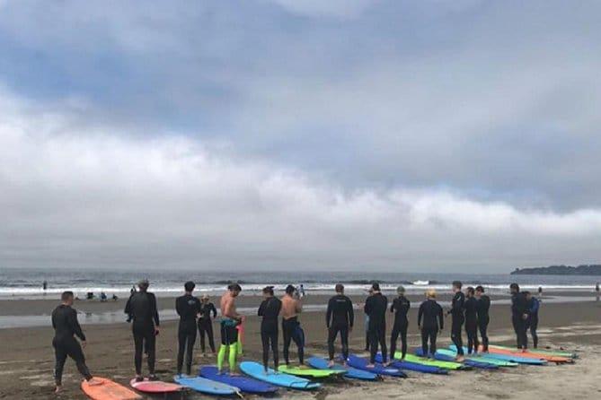 Beginner Surf Lessons At Stinson Beach