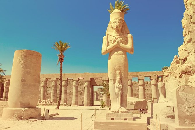 Luxor East Bank, Karnak and Luxor Temples