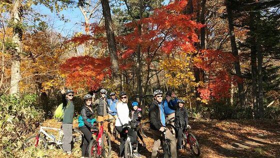 Nopporo Forest Park Mountain Bike Tour from Sapporo
