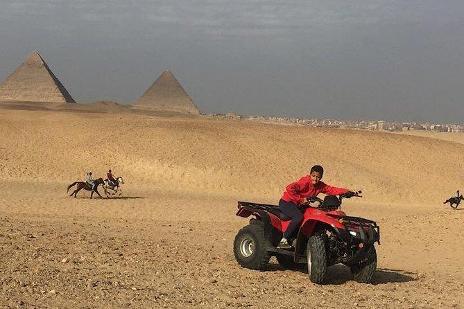 ATV Quad Bike Tour at Pyramids of Giza
