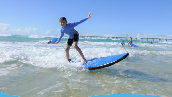 Learn to Surf on the Gold Coast