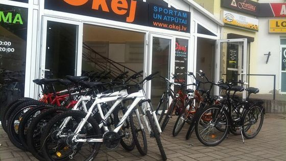 Bike rental in Sigulda