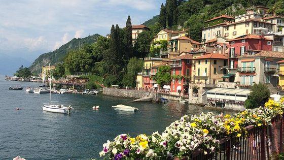 Lake Como, Bellagio And Varenna