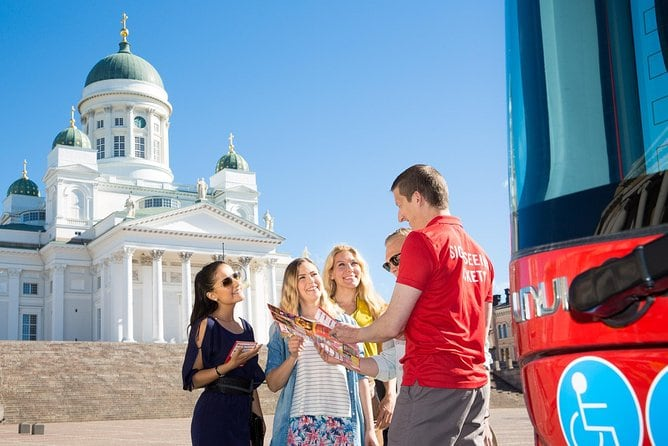 Helsinki Super Saver: Hop-On Hop-Off Bus and Boat Combination Tour 24H/48H