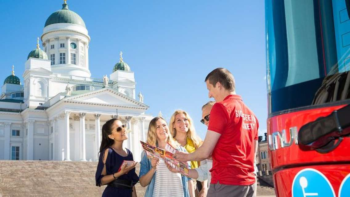 Helsinki Super Saver: Hop on Hop off Bus 24H/48H & Beautiful Canal Route cruise