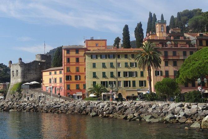 Private Tour to Portofino and Santa Margherita from Genoa Cruise Port or Hotel