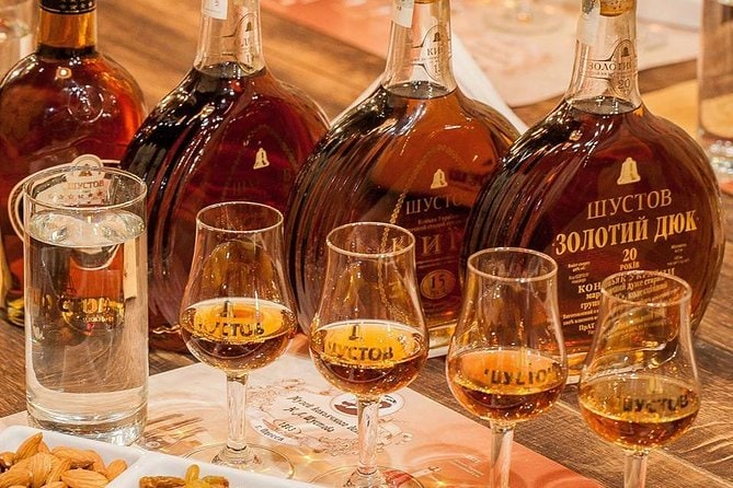 Shustov Cognac Winery Museum Tour with Tasting in Odessa