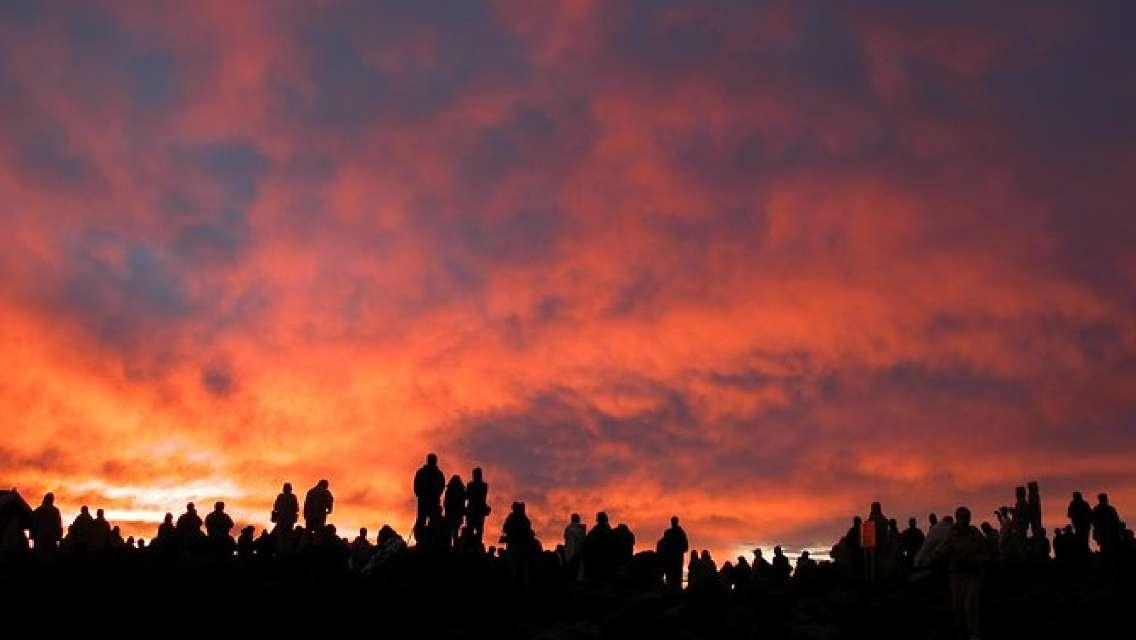 Maui Haleakala Sunrise Downhill Bike Tour with Mountain Riders Rated #1