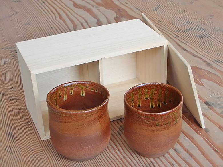 夫婦茶碗作り電動ろくろでペアの湯呑みを制作しよう!(桐箱付き)