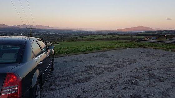 Shannon Airport to Dublin, Private Chauffeur Transfer . Premium Sedan