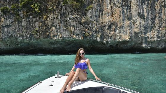 Phi Phi Khai Islands Tour by Speed Boat