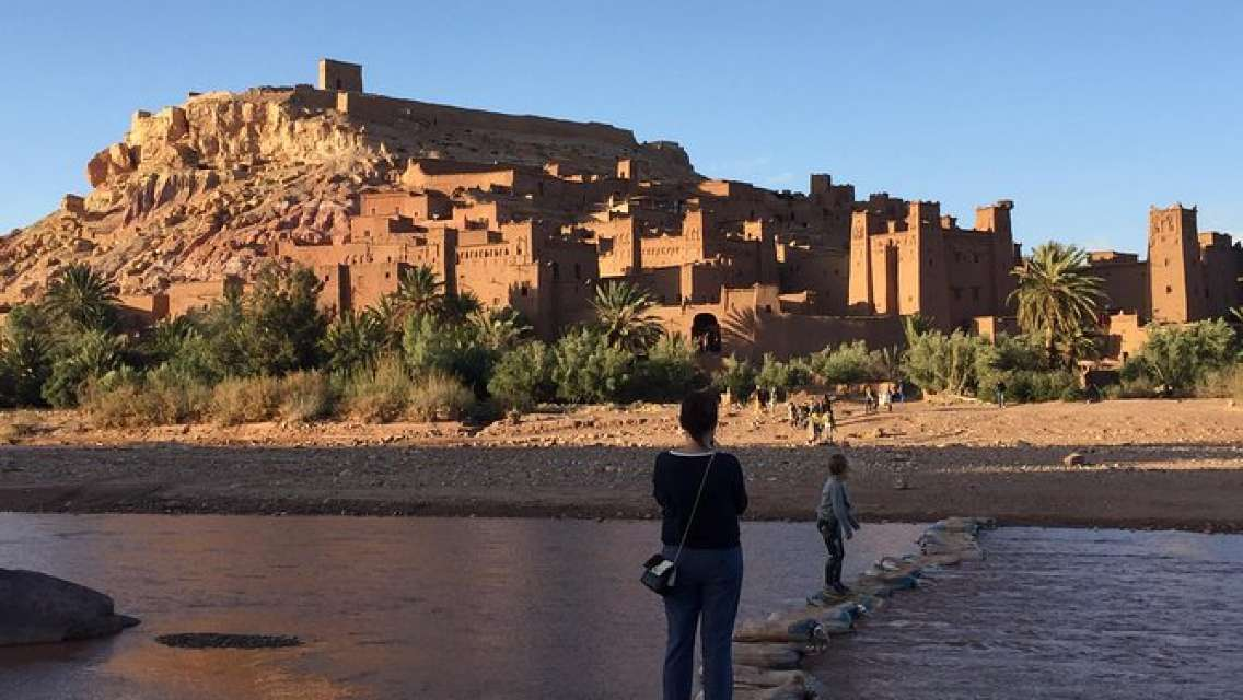 Day Trip from Marrakech to the ancient Kasbah Ait Ben Haddou & Telouet valley