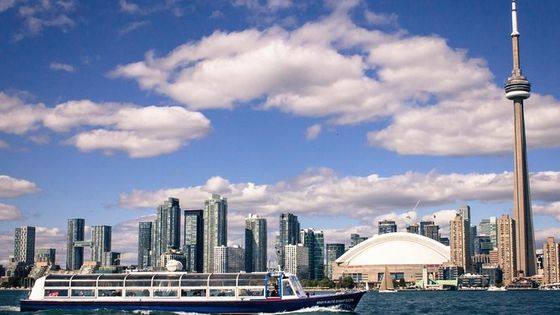 1-Hour Toronto Harbour Tour with Live Narration