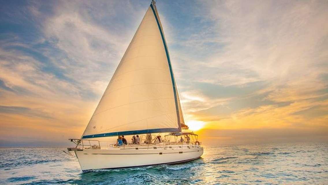 Luxury Sunset Sail from Freeport