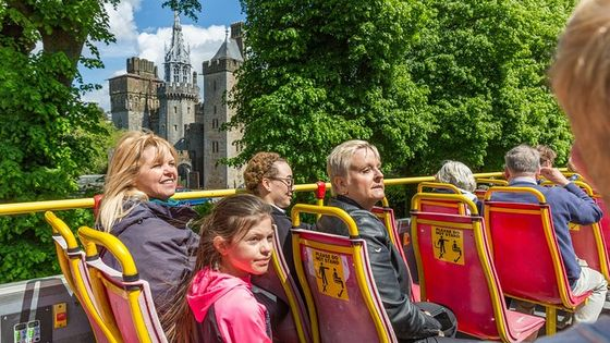 City Sightseeing Cardiff Hop-On Hop-Off Bus Tour
