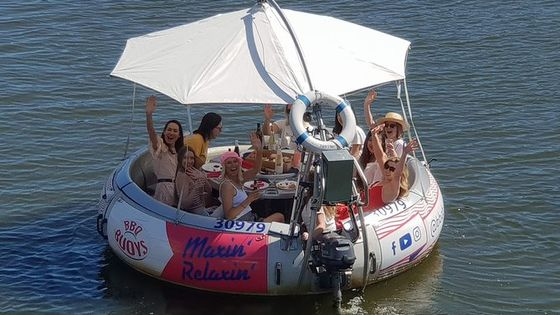 Adelaide 2-Hour BBQ Boat Hire for 10 People