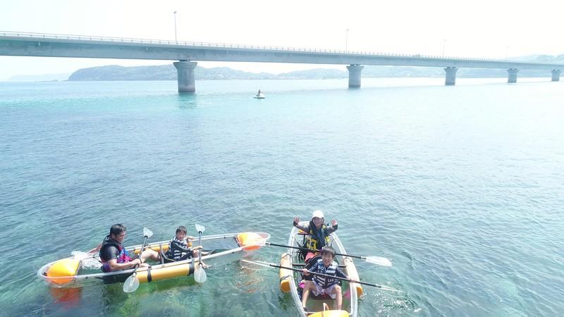 山口縣透明皮艇體驗