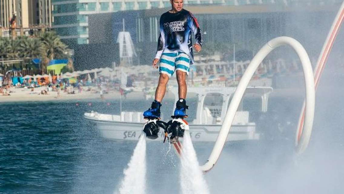 Jet Blade Flyboard Experience