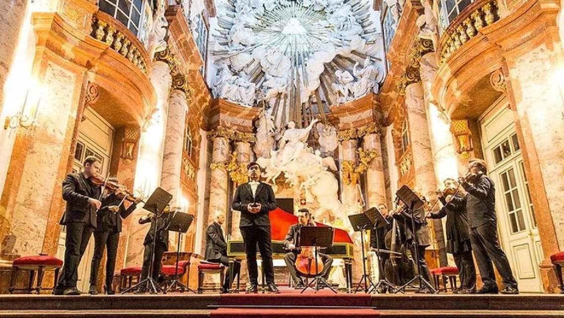Vivaldi Four Seasons Concert at St. Charles Church in Vienna