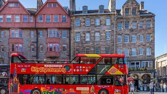 City Sightseeing Edinburgh Hop-On Hop-Off Bus Tour