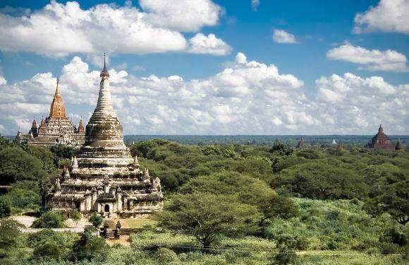 緬甸蒲甘蘇拉瑪尼佛塔+良烏市場+蒲甘王宮遺址一日遊(私家包車遊+行程自由安排+酒店接送)