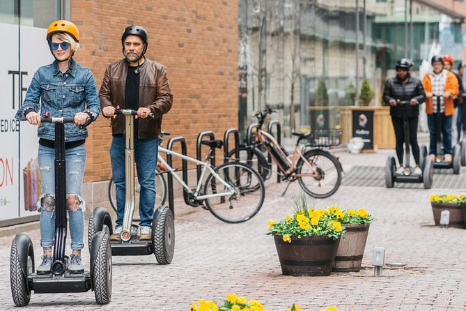 30-Minute Distillery District Segway Tour in Toronto