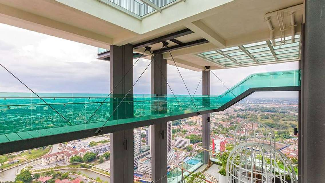 Melaka Tour + Sky Tower Lunch + River Cruise from Kuala Lumpur