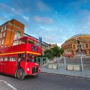 Vintage London Bus Tour Including Thames Cruise with Optional London Eye