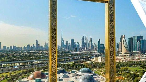 Dubai Frame and City Private Guided Tour