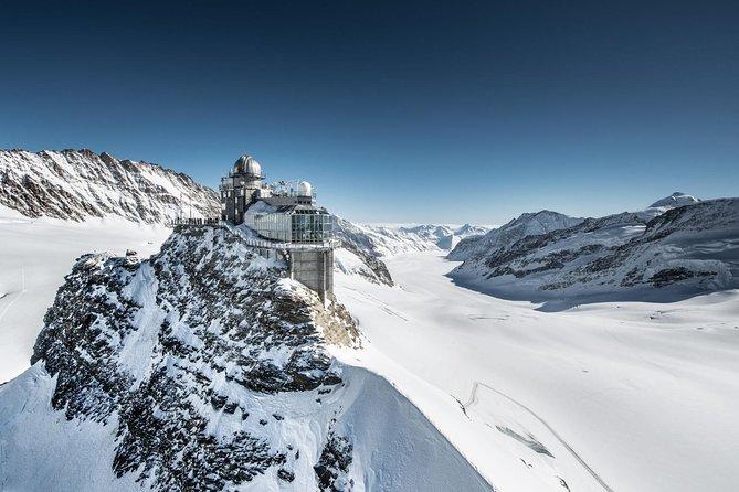 Interlaken and train to Jungfrau, Top of Europe from Geneva
