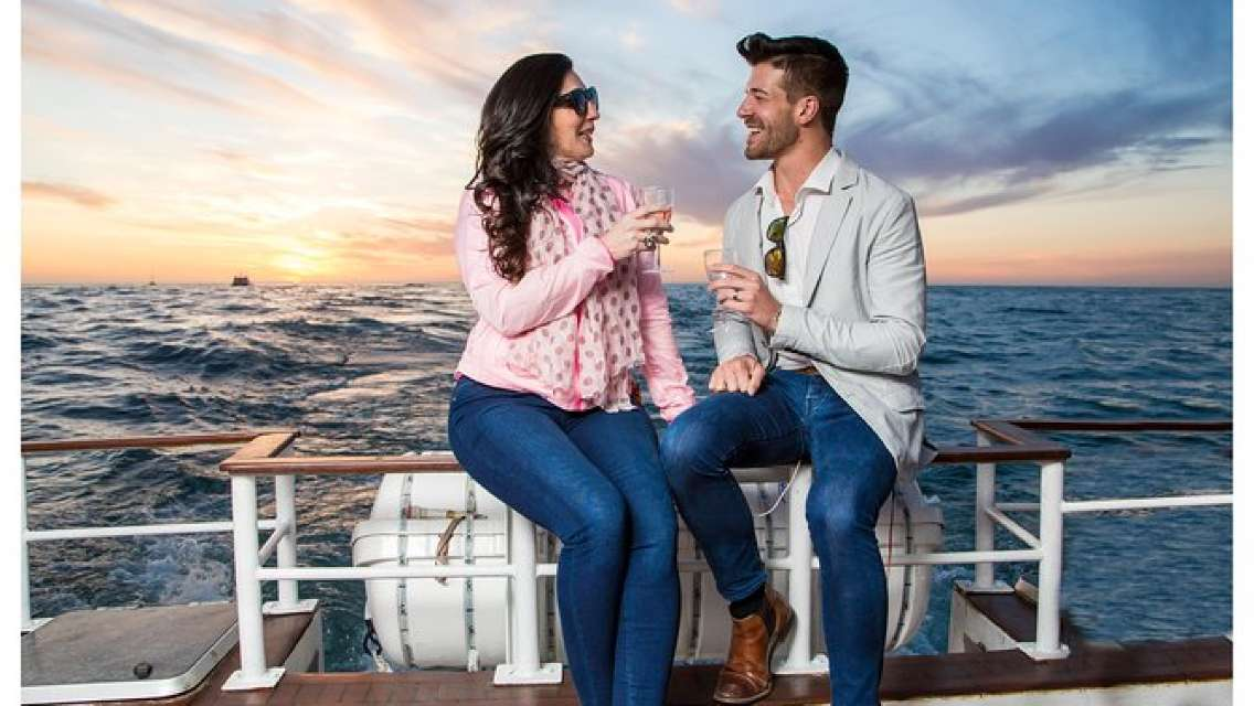 Sunset Champagne Cruise from Cape Town