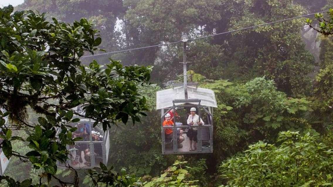 Sky Tram & Sky Trek From Monteverde