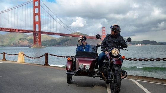 Classic Sidecar Tour of San Francisco