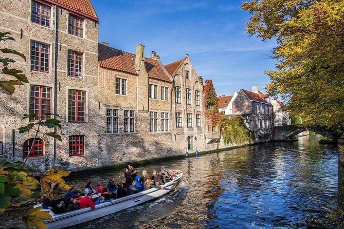 Discovery of Bruges from Brussels - Small Exclusive Group Tour