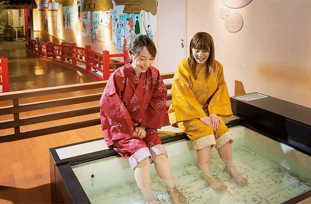 오사카 아리마 온천 다이코노유 한신판 콤보 (E-ticket)