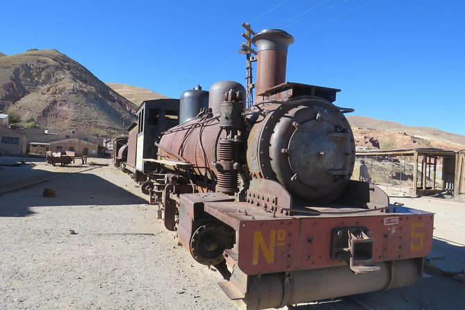 Private Visit to the old Mines and trains of Pulacayo
