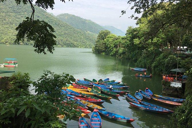 Fewa Lake Rowing Trip from Pokhara